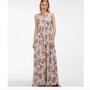 Massimo dutti size 6 floral maxi dress